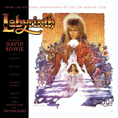 Trevor Jones / David Bowie ‎– Labyrinth - Original Soundtrack - new vinyl