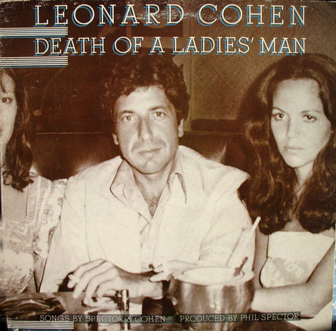 Leonard Cohen - Death of a Ladies' Man - new vinyl