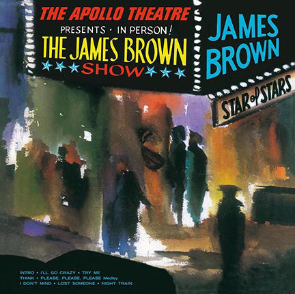 James Brown ‎– Live At The Apollo - new vinyl