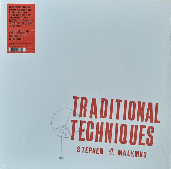 Stephen J. Malkmus ‎– Traditional Techniques - new vinyl