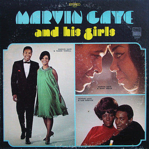 Marvin Gaye ‎– Marvin Gaye And His Girls - USED VINYL