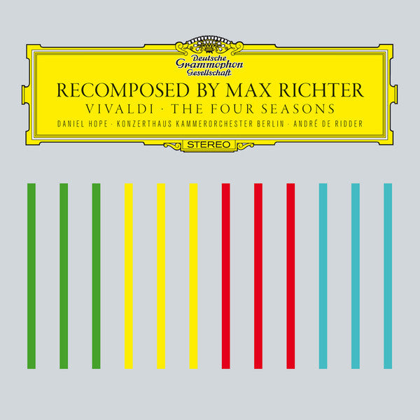 Max Richter, Vivaldi ‎– Recomposed By Max Richter: Vivaldi - The Four Seasons - new vinyl