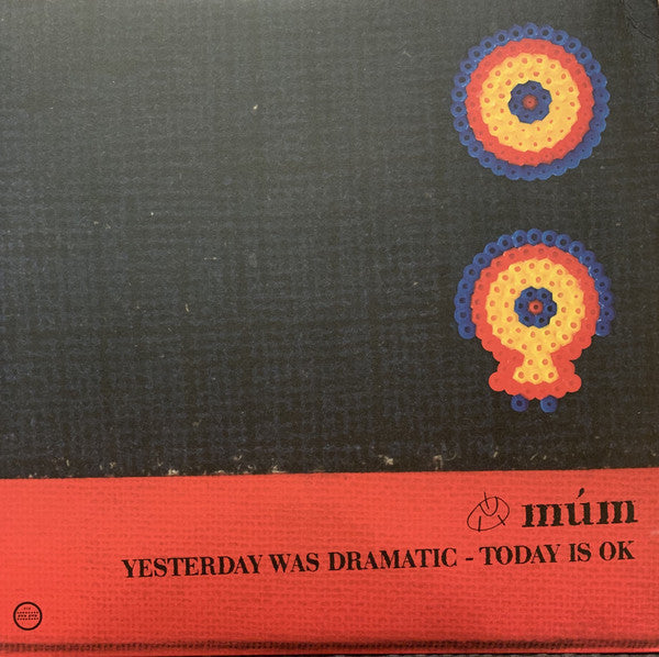 múm ‎– Yesterday Was Dramatic Today Is Ok - new vinyl