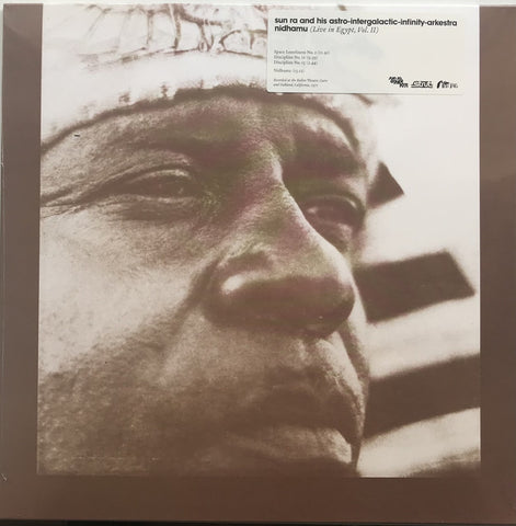 Sun Ra And His Astro-Intergalactic-Infinity-Arkestra ‎– Nidhamu (Live In Egypt Vol. II) - new vinyl