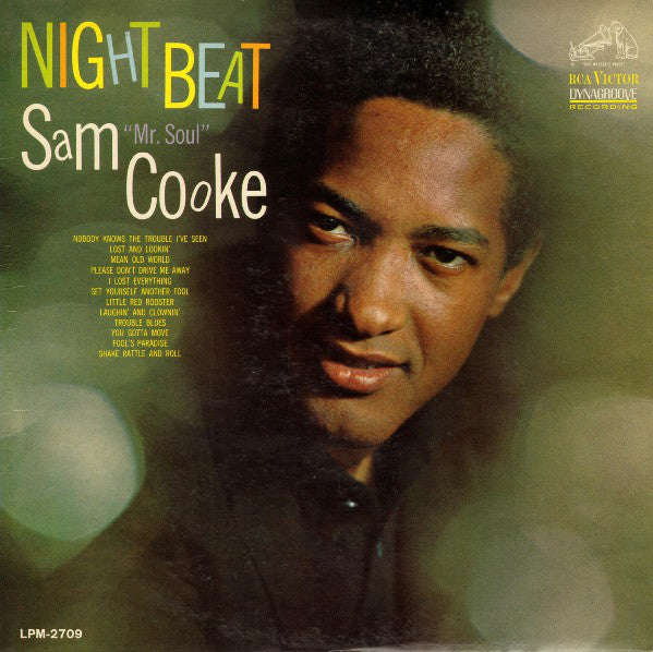 Sam Cooke ‎– Night Beat - new vinyl