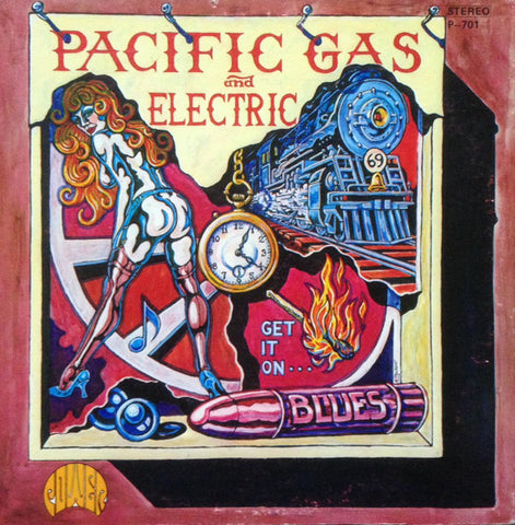 Pacific Gas & Electric ‎– Get It On - USED VINYL