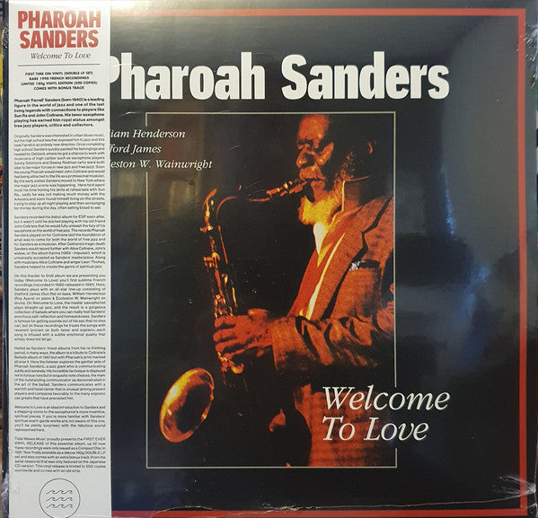 Pharoah Sanders ‎– Welcome To Love - new vinyl