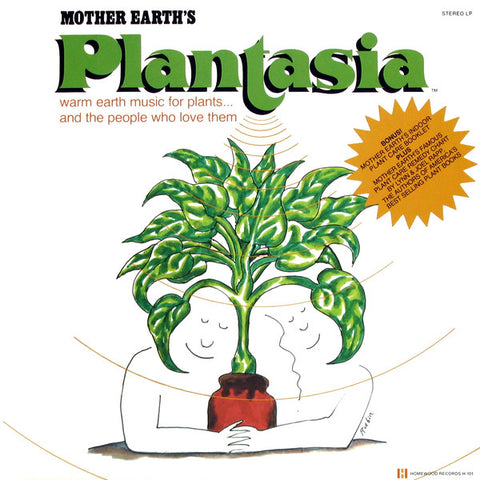 Mort Garson ‎– Mother Earth's Plantasia 2LP DELUXE VERSION - new vinyl