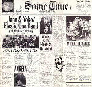 John & Yoko / Plastic Ono Band With Elephants Memory And Invisible Strings ‎– Some Time In New York City - USED VINYL