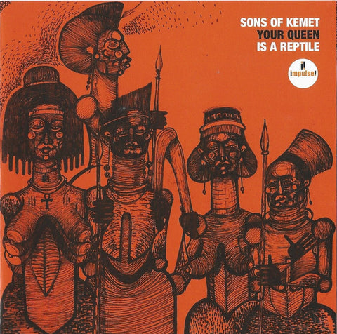 Sons Of Kemet ‎– Your Queen Is A Reptile - new vinyl