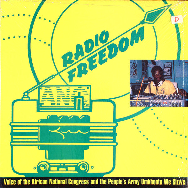 Various ‎– Radio Freedom: Voice Of The African National Congress And The People's Army Umkhonto We Sizwe - USED VINYL