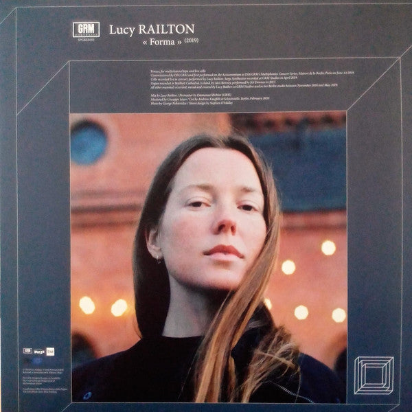 Lucy Railton / Max Eilbacher ‎– Forma / Metabolist Meter (Foster, Cottin, Caetani And A Fly) - new vinyl
