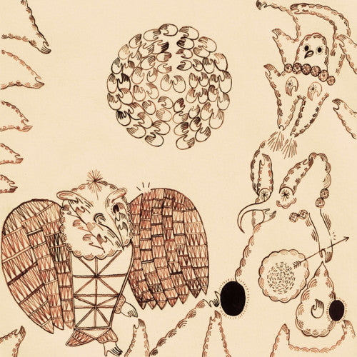 Devendra Banhart ‎– Rejoicing In The Hands / Niño Rojo - USED VINYL
