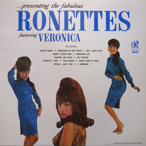 The Ronettes Featuring Veronica ‎– Presenting The Fabulous Ronettes Featuring Veronica - new vinyl