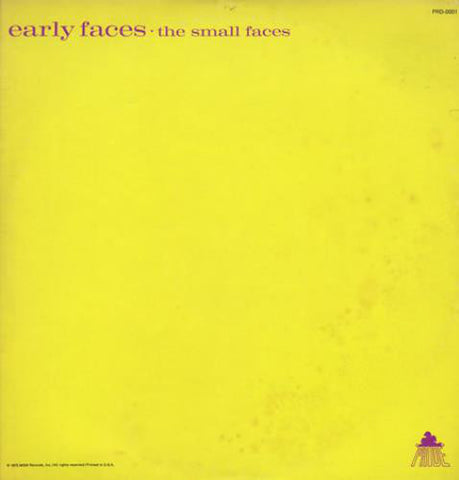 The Small Faces - Early Faces - USED VINYL