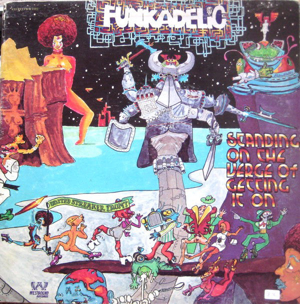 Funkadelic ‎– Standing On The Verge Of Getting It On - new vinyl