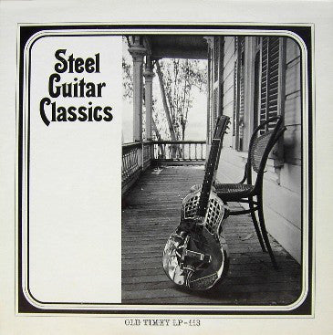 Various ‎– Steel Guitar Classics - used vinyl