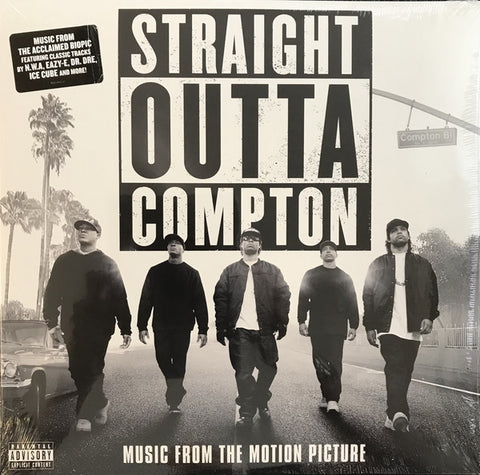 Various ‎– Straight Outta Compton (Music From The Motion Picture) - new vinyl