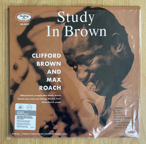 Clifford Brown And Max Roach ‎– Study In Brown - new vinyl