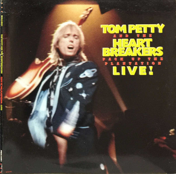 Tom Petty And The Heartbreakers ‎– Pack Up The Plantation - Live - USED VINYL