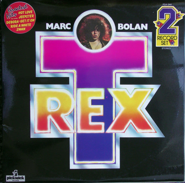 Marc Bolan & T. Rex ‎– Greatest Hits - USED VINYL