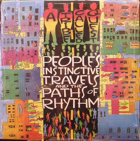 A Tribe Called Quest ‎– People's Instinctive Travels And The Paths Of Rhythm - new vinyl