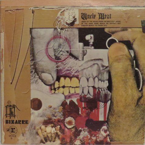The Mothers Of Invention ‎– Uncle Meat - USED VINYL