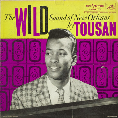 Allen Toussaint ‎– The Wild Sound Of New Orleans - new vinyl