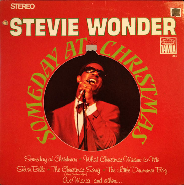 Stevie Wonder ‎– Someday At Christmas - new vinyl