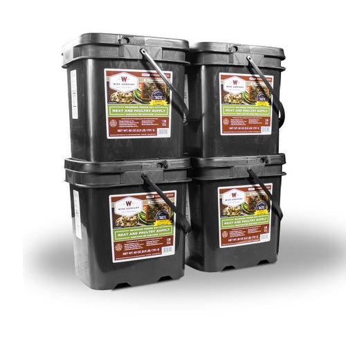 240 Serving Freeze Dried Meat & Rice Bucket - Cedar Creek Outdoors - 1