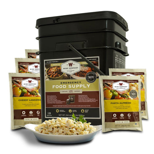120 Serving Entrée Only Grab and Go Bucket - Cedar Creek Outdoors - 1
