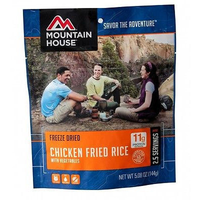 Mountain House Food Pouch-Chicken Fried Rice - Cedar Creek Outdoors - 1
