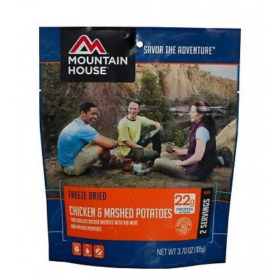 Mountain House Food Pouch-Chicken & Mashed Potatoes - Cedar Creek Outdoors - 1