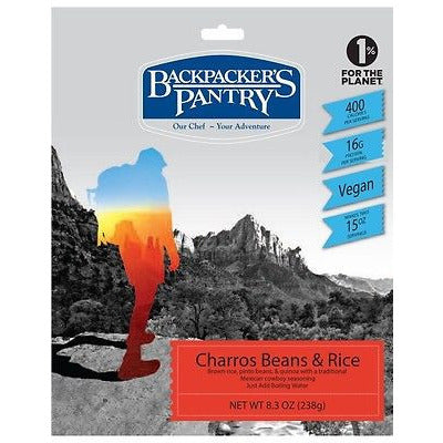 Backpacker's Pantry Charros Beans & Rice - Cedar Creek Outdoors - 1