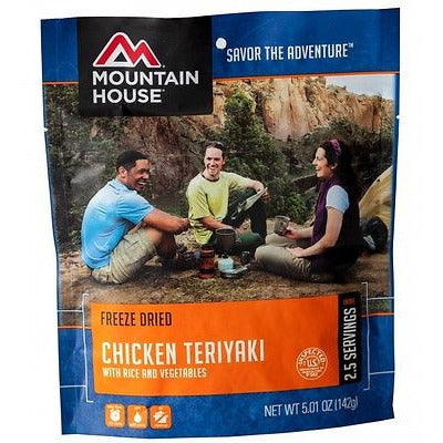 Mountain House Food Pouch-Chicken Teriyaki With Rice - Cedar Creek Outdoors - 1
