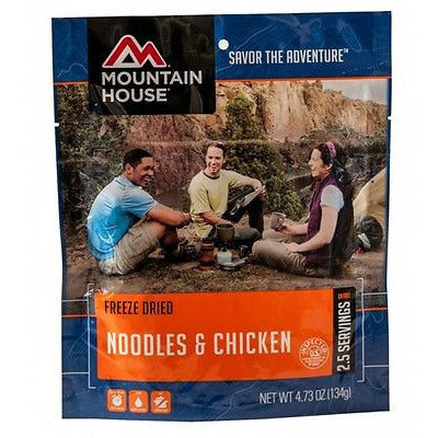 Mountain House Food Pouch-Noodles & Chicken - Cedar Creek Outdoors - 1