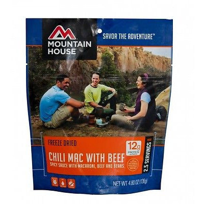 Mountain House Food Pouch-Chili Mac With Beef - Cedar Creek Outdoors - 1