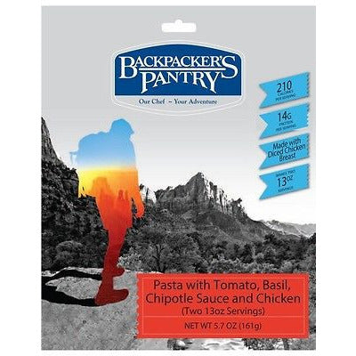 Backpacker's Pantry Tomato Chipotle Pasta With Chicken - Cedar Creek Outdoors - 1