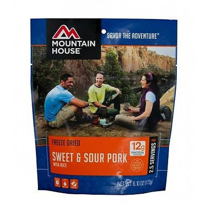 Mountain House Food Pouch-Sweet & Sour Pork With Rice - Cedar Creek Outdoors - 1