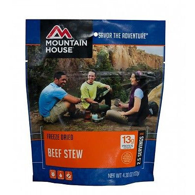 Mountain House Food Pouch-Beef Stew - Cedar Creek Outdoors - 1