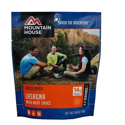 Mountain House Food Pouch-Lasagna With Meat Sauce - Cedar Creek Outdoors - 1