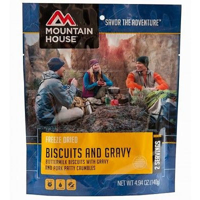 Mountain House Food Pouch-Biscuits And Gravy - Cedar Creek Outdoors - 1