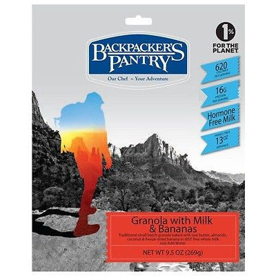 Backpacker's Pantry Granola with Bananas & Milk - Cedar Creek Outdoors - 1