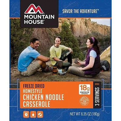 Mountain House Food Pouch-Homestyle Chicken Noodle Casserole - Cedar Creek Outdoors - 1