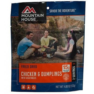 Mountain House Food Pouch-Chicken & Dumplings - Cedar Creek Outdoors - 1
