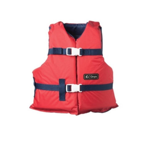 Onyx Youth Boating Vest Red