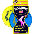 "8"" Yellow Aerobie DOGOBIE Disk The Worlds Best Flying Disk Great For Dogs - Cedar Creek Outdoors - 2"