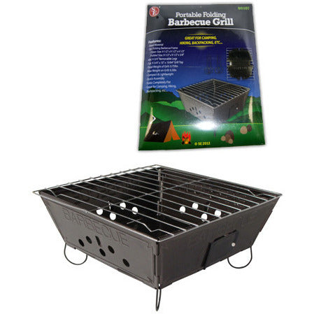 Lightweight Folding Camp Stove BBQ/Stove/Grill Charcoal Stove - Cedar Creek Outdoors - 1