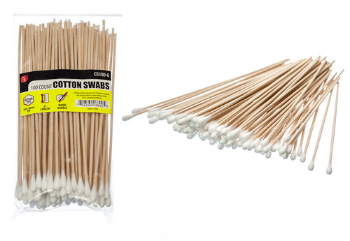 100 Count Cotton Cleaning Swabs
