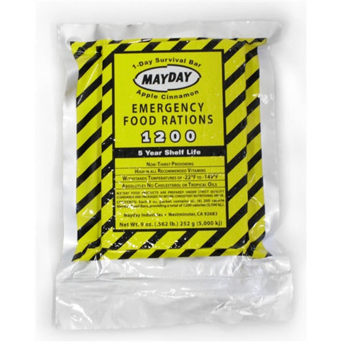 Mayday Survival Food Bar Emergency MRE Rations - Cedar Creek Outdoors - 1